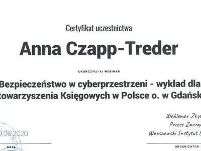 Certyfikat bezpieczeństwa w cyberprzestrzeni